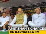 "Video: Amit Shah's ""Chargesheet"" Against Siddaramaiah: NDTV Fact Check"