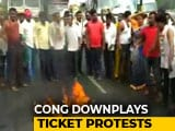 Video: Karnataka Elections: Congress Candidate List Sparks Protests
