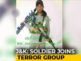 "Video : ""Missing"" Soldier Joins Hizbul Mujahideen: Police"