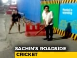Video : Sachin Tendulkar Bowls Over Fans, Joins Them For Late-Night Gully Cricket