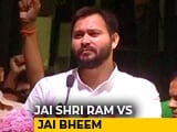 "Video: Ahead Of 2019 Polls, ""Jai Bhim"" Versus ""Jai Sri Ram"" In Hindi Heartland"