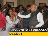 Video : Apology Accepted (With Disclaimer), Journalist Tells Tamil Nadu Governor