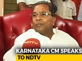 Video : Contesting From 'Risky' Seat In Mysuru, Siddaramaiah Hints At Plan B