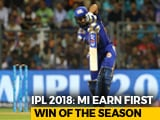 Rohit Sharma Returns To Form As MI Beat RCB To Earn First Win Of The Season