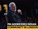 Video : Watch: PM Modi's Q&A Session In London With Prasoon Joshi