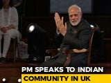 Video : India Is Getting Increasingly Aspirational, Says PM In London