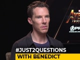 Video : #Just2Questions: Benedict Cumberbatch On Renaming His Female Fan Clubs