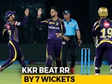 Video : IPL 2018: All-round Kolkata Record Facile 7-Wicket Win Over Rajasthan