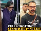Video : Celeb Spotting: Aamir Khan, Amitabh Bachchan & Others