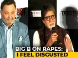 "Video : ""Disgusted, Don't Rake It Up,"" Says Amitabh Bachchan, Asked About Rapes"