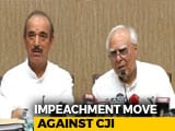 "Video : ""Wish The Day Hadn't Come"": Opposition Moves To Impeach Chief Justice"