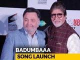 Video : Rishi Kapoor & Amitabh Bachchan Share Fond Memories