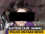 "Video : ""Far Away From Truth"": Police Deny Claims That Kathua Girl Wasn't Raped"