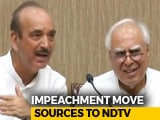 Video : In Opposition Move Against Chief Justice, Rules Broken: Sources