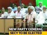 Video : Sitaram Yechury Re-Elected CPM General Secretary