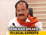 Video : As Venkaiah Naidu Begins Impeachment Consultations, Congress Confident