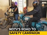 Video : Over 100 Motorcyclists Ride 40 Km To Spread Awareness On Road Safety In Delhi