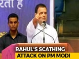 "Video : ""Modi <i>Ji</i> Is Only Interested in Modi <i>Ji</i>,"" Rahul Gandhi Takes Swipe At PM"