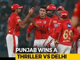Video : IPL 2018: Punjab Stun Delhi, Gambhir's Team In Free Fall