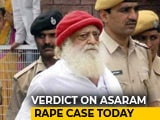 Video : Asaram Verdict In Rape Case Today, Four States On Alert