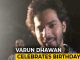 Video : Varun Dhawan Celebrates His Birthday On <i>Kalank</i> Sets