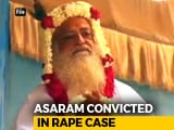 Video : Asaram, Guilty Of Raping Schoolgirl, Sentenced To Life In Jail