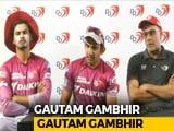 Video : IPL 2018: Gautam Gambhir Steps Down As Delhi Daredevils Captain
