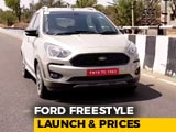 Video : Ford Freestyle Launched In India: Prices, Specs And More