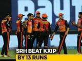 IPL 2018: SunRisers Hyderabad Defend 132 To Beat Kings XI Punjab By 13 Runs