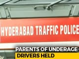 Video : Parents Of 26 Minors Jailed In Hyderabad For Letting Their Children Drive