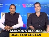 Video : Amazon To Publish Next 6 Books Of Chetan Bhagat