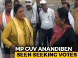 "Video : ""That's How You Get Votes..."": MP Governor Anandiben Patel To BJP Leaders"