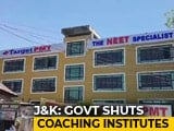 Video : Amid Student Protests In Kashmir, Private Coaching Centres Shut For 3 Months