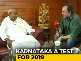 "Video: ""Will Disown Son If He Backs BJP"": HD Deve Gowda On Karnataka Elections"