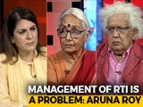 Video : The NDTV Dialogues: Aruna Roy, Meghnad Desai On India's RTI Movement