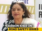 Video : Kirron Kher Has This Important Road Safety Advice For Bikers On The Move