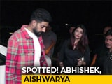 Video : Spotted! Ranbir, Abhishek, Aishwarya & Others