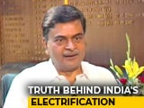 "Video : ""Takes Courage To Commit"": Minister After 100% Electrification Questioned"