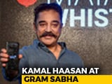 "Video : ""Not Magic Wand"": Kamal Haasan's Disclaimer For Maiam Whistle App"