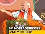 "Video: ""Ease Of Doing Murder In Congress Rule,"" Says PM In Karnataka's Udupi"