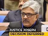 Video : Top Judges Firm On Justice KM Joseph, Prep Detailed Response To Centre