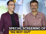 Video : Rajkumar Hirani, R Balki & Vidhu Vinod Chopra At The Screening Of <i>102 Not Out</i>