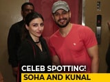Video : Celeb Spotting! Riteish, Soha, Kunal At The Screening Of <i>Avengers: Infinity War</i>
