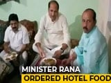 Video : UP Minister Goes To Dalit Home 'Uninvited' For Dinner, Orders In