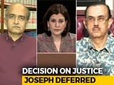 Video : Top Court Collegium Defers Decision On Justice KM Joseph