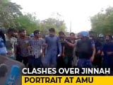 Video : Protests, Clashes In Aligarh University Over Muhammad Ali Jinnah Portrait