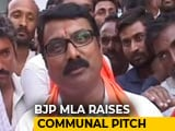 Video : After 'Hindu vs Muslim' Remark, Karnataka BJP Lawmaker's Take Two