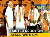 Video: In Ballari, PM Shares Stage With Corruption-Charged Reddy Brother