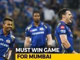 Video: Must Win Game For Mumbai Against Punjab