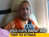Video : After Criticism, Yogi Adityanath Cuts Karnataka Campaign Over UP Deaths